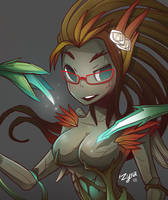 Haunted Zyra by LataeDelan