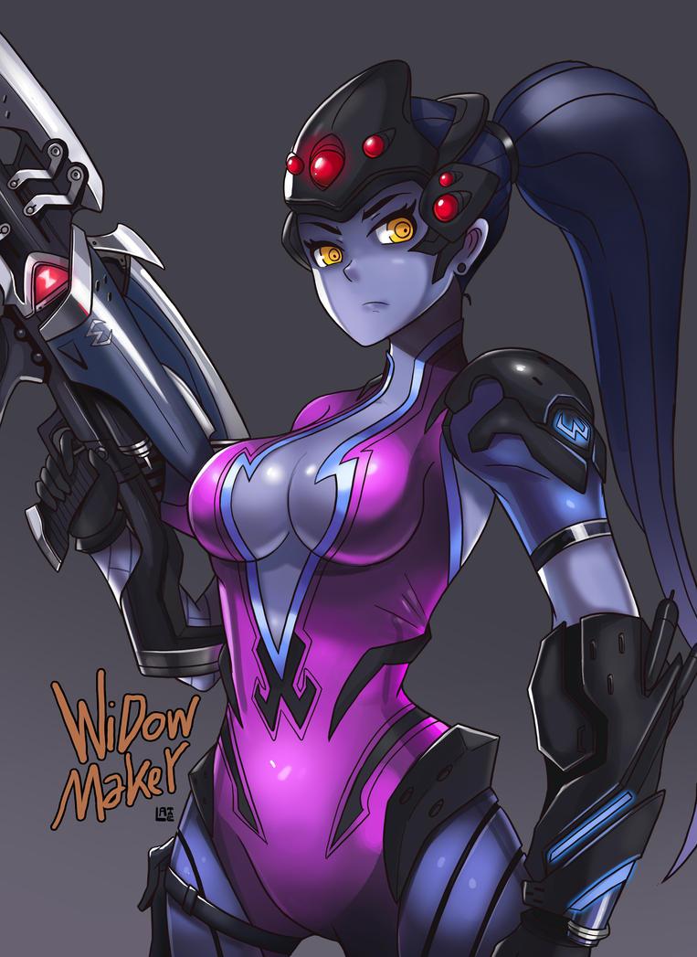 Overwatch_Widowmaker by LataeDelan