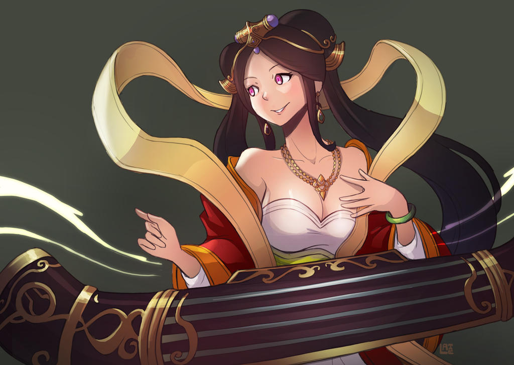 Guqin Sona by LataeDelan