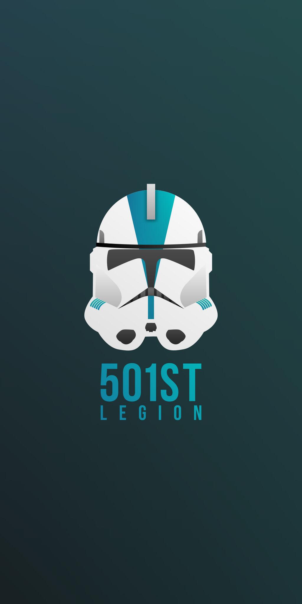 501st Legion Phone Wallpaper By Thewaspartz On Deviantart