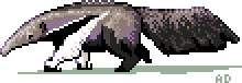 Anteater Sprite by e-pona