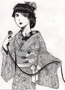 Taisho period singer