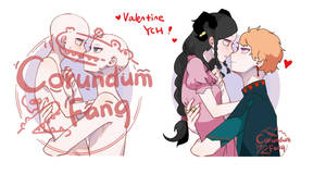 [OPEN]Valentine Couple YCH