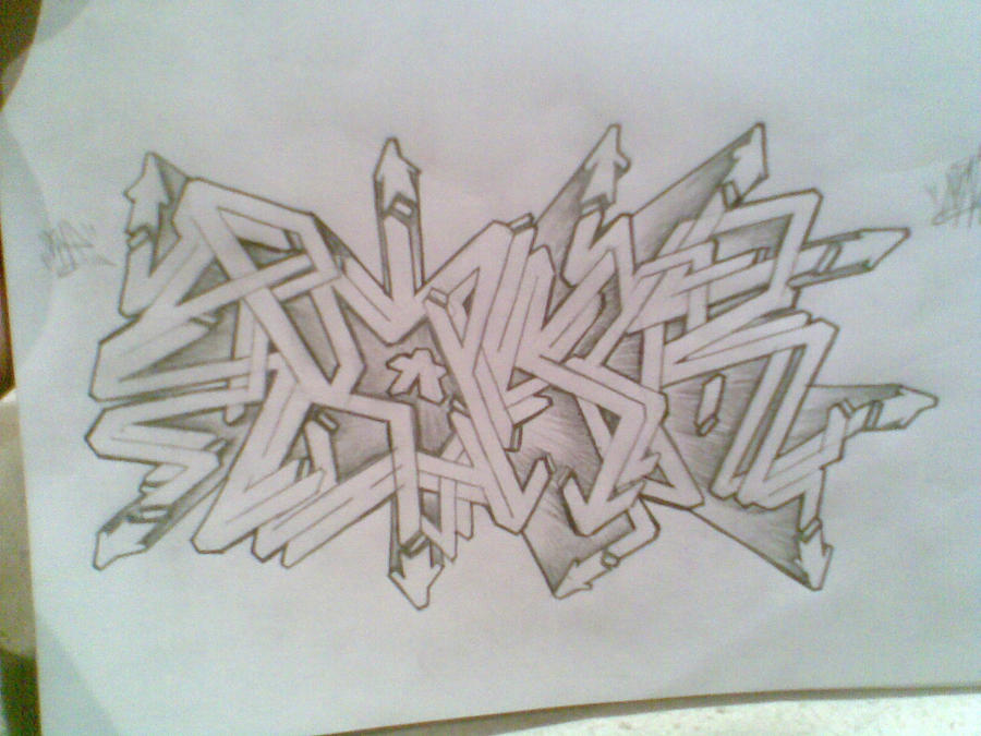 Wildstyle Sketch By Semi34