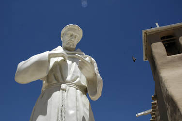 Saint Chris With Bird by laurapalmer