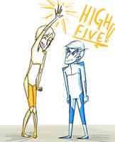 High Five by h-shi