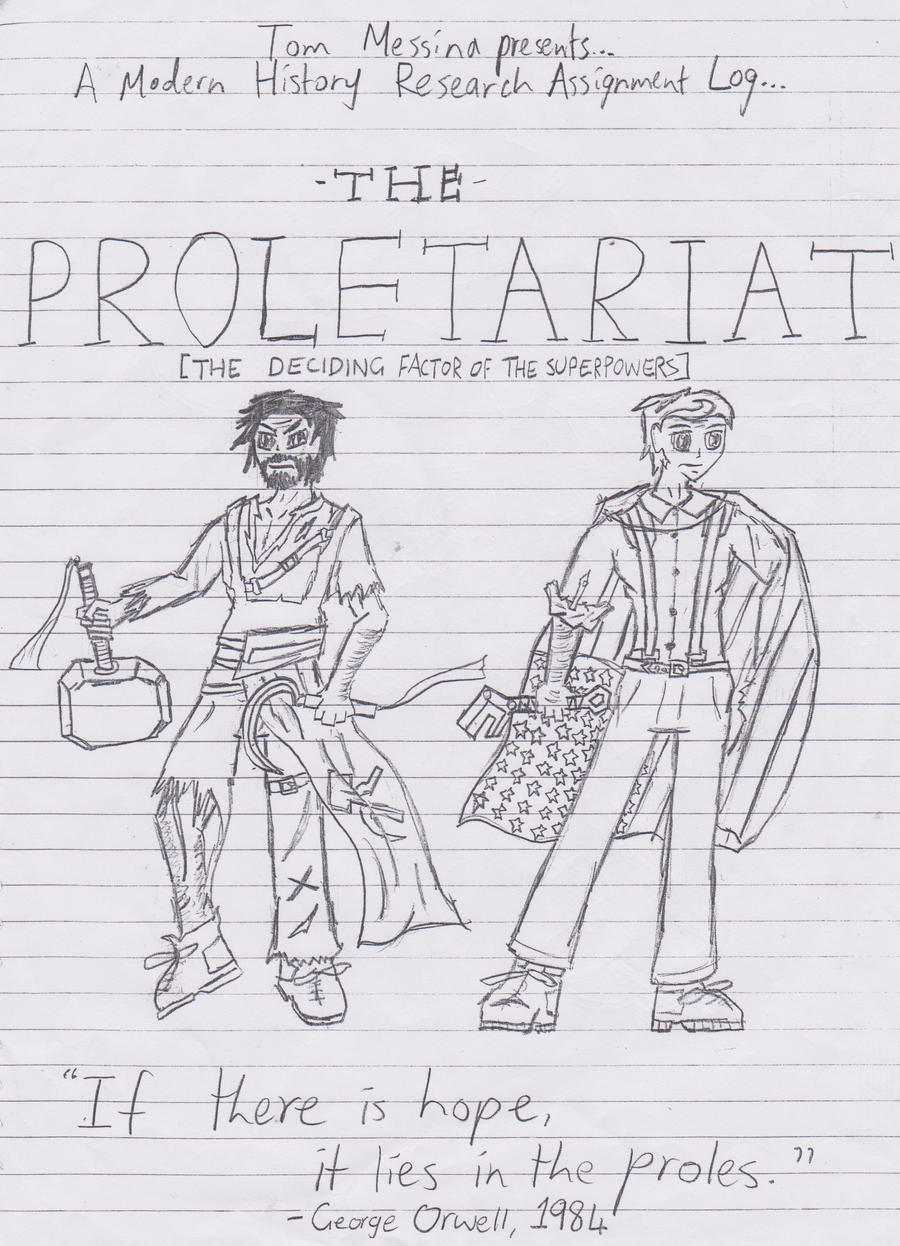 proletariat assignment title page by riproarersun on proletariat assignment title page by riproarersun proletariat assignment title page by riproarersun