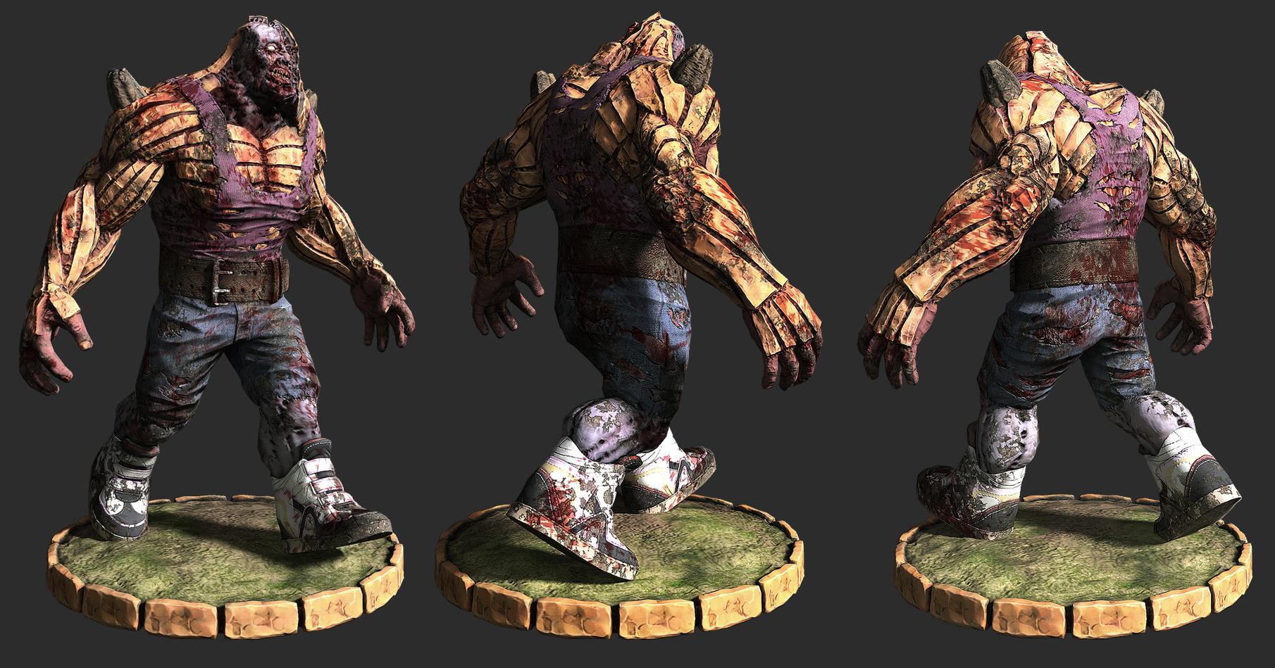 Pumpkin Hulk Game Model by liamslackofsurprise