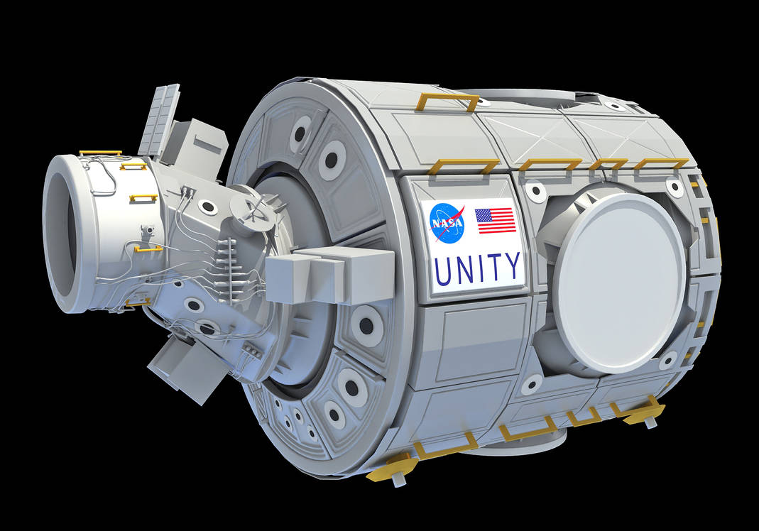 3D Models Unity ISS International Space Station by 3D-Horse