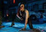 Gina - Zombie Hunter by mrflamer