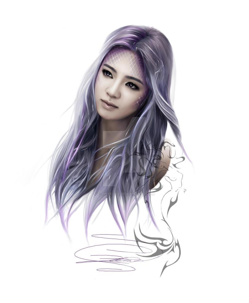 ~SNSD: Hyoyeon as a beautiful mermaid~ by z-jihye-lee