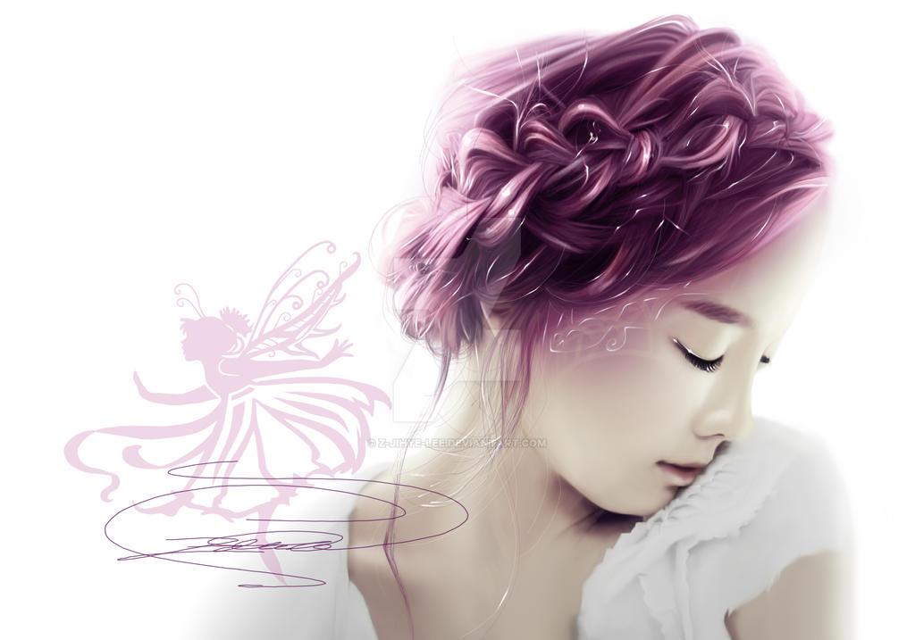 ~Girls' Generation: Taeyeon as a beautiful Fairy~ by z-jihye-lee
