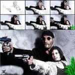 The Professional, Leon and Matilda by NeDrawMas