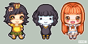 Pixel Doll Requests - Set 1 by Chocotini