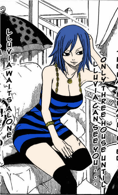 Juvia waiting by LordRadamanthys