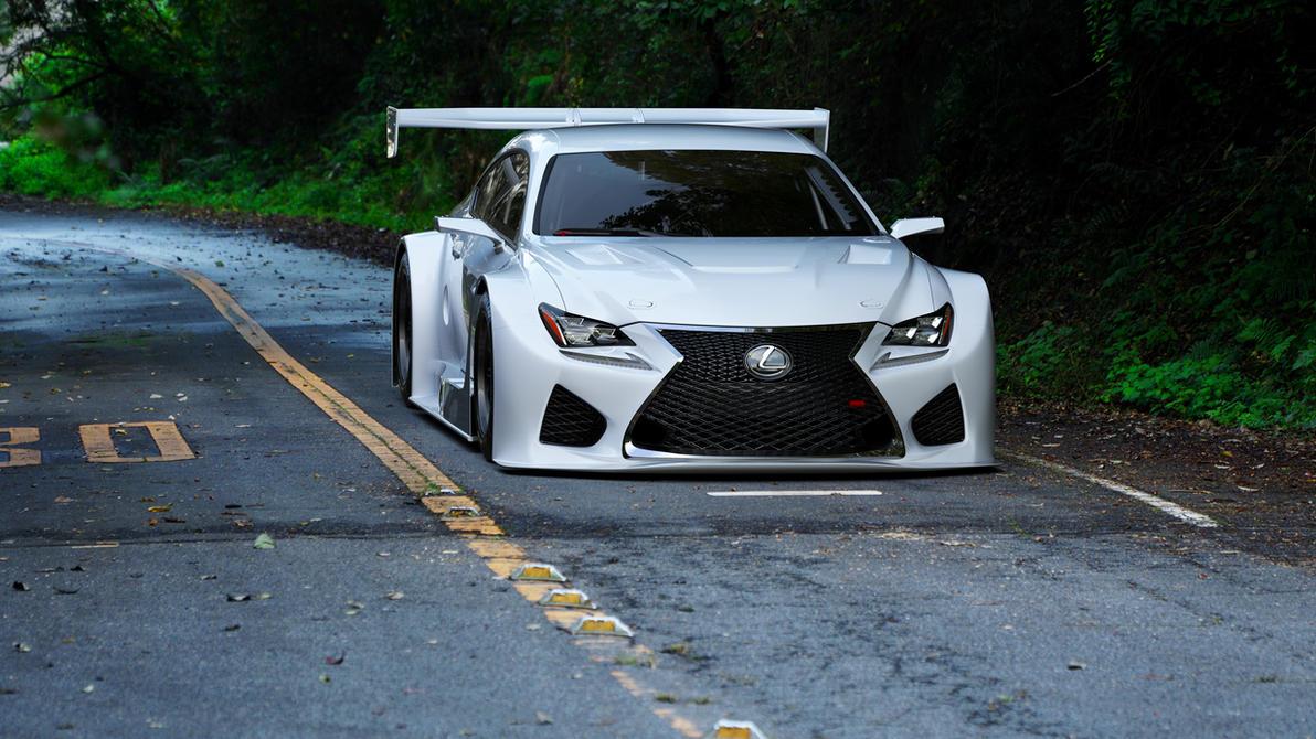 LEXUS RC F GT3 concept by Shiroutsuri