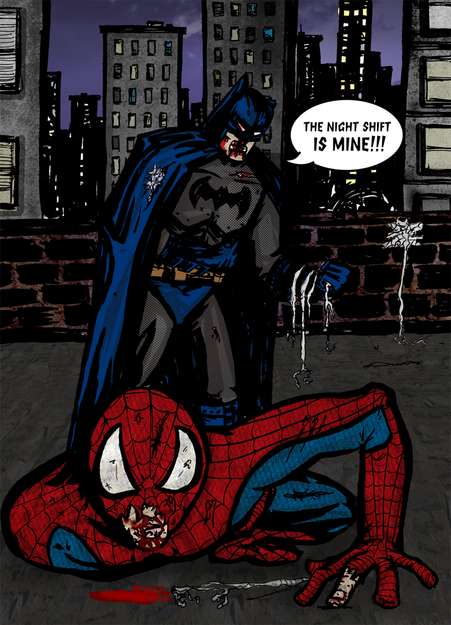 how spider man is better than batman Boomstick: bruce wayne, the batman wiz: and peter parker, the spider-man this will get interesting yang said ruby was super excited.
