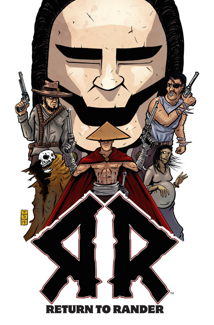 Return to Rander Graphic Novel Cover by sedani