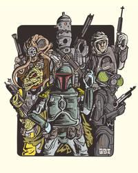 Vader's Bounty Hunters by sedani