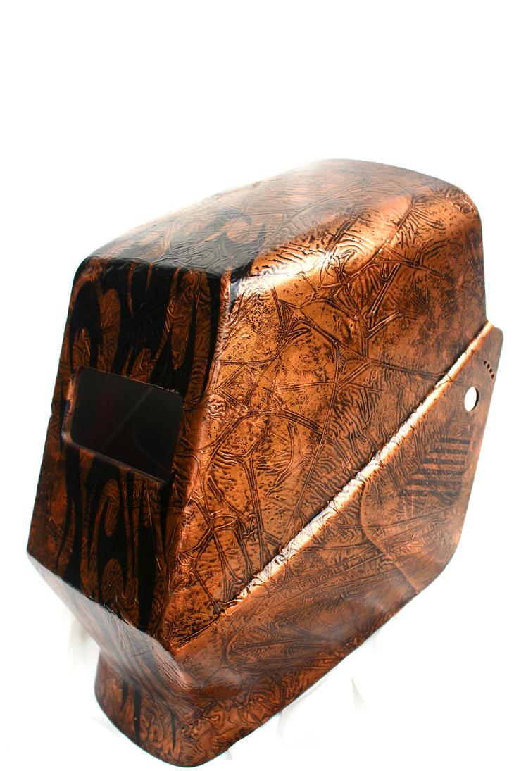 welding hood mod by l art de vie on deviantart. Black Bedroom Furniture Sets. Home Design Ideas