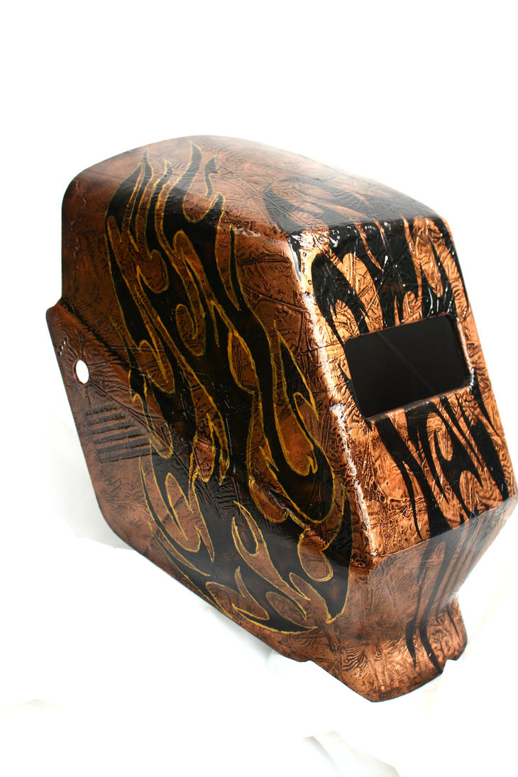 custom welding hood iii by l art de vie on deviantart. Black Bedroom Furniture Sets. Home Design Ideas