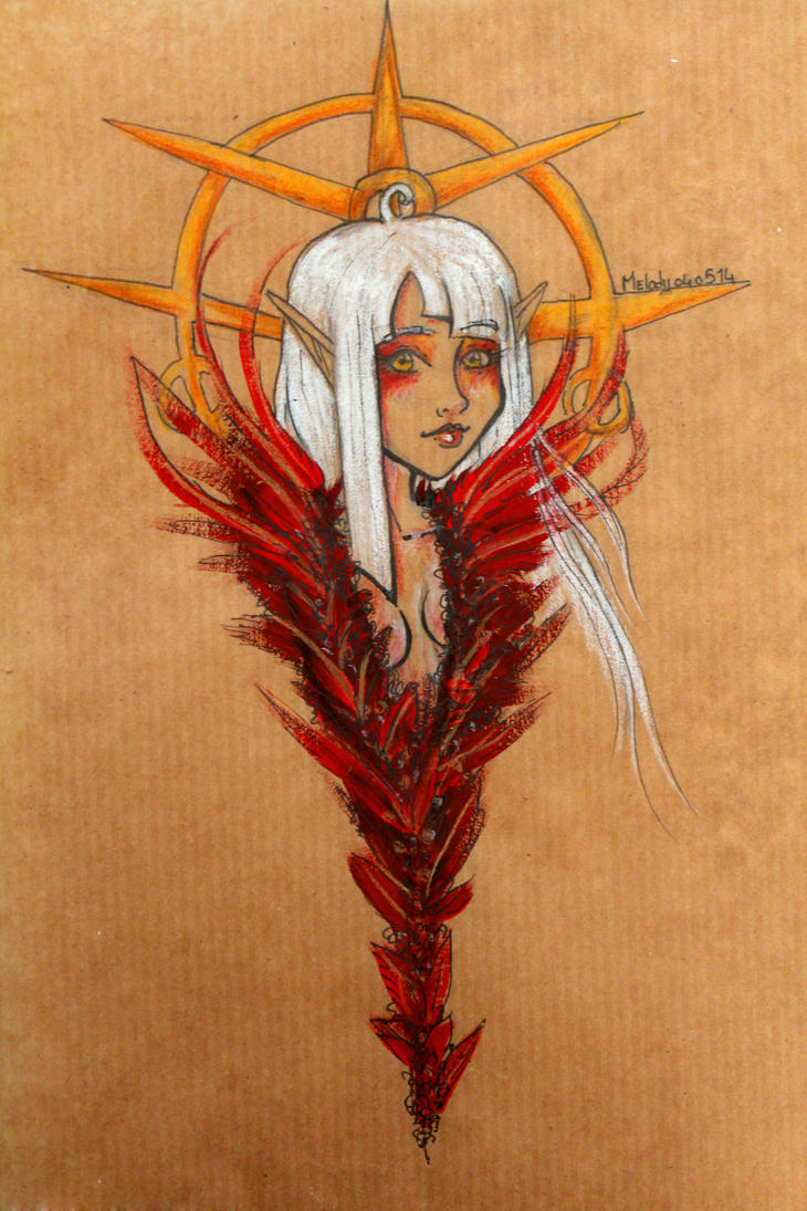 Calipse:coloredsketch: by melodygrint