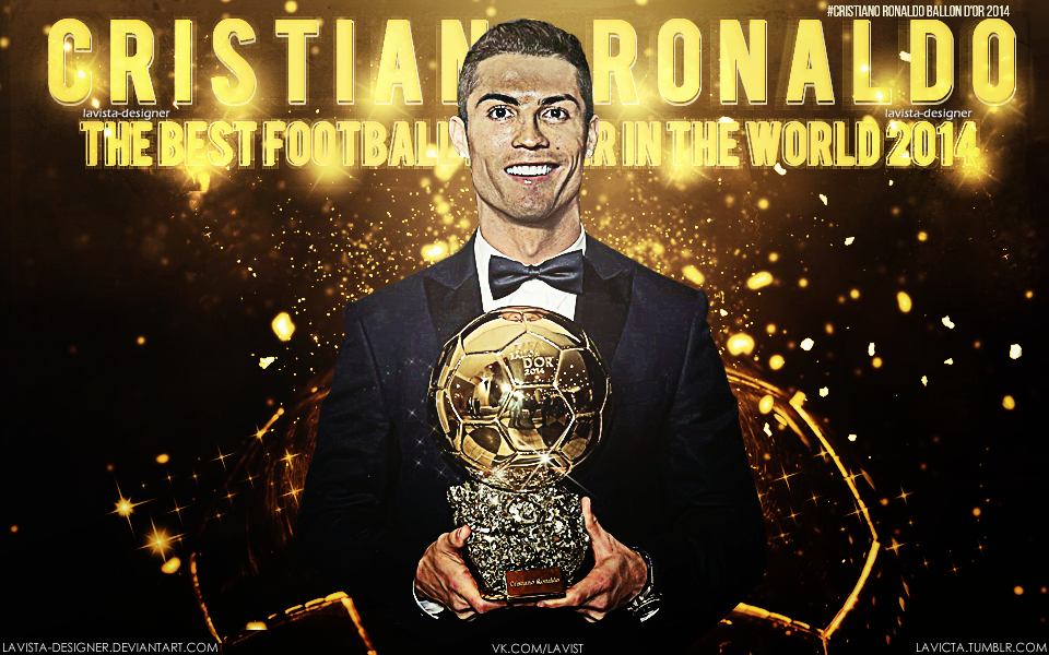 Cristiano Ronaldo Fifa Ballon Dor  By Lavista Designer