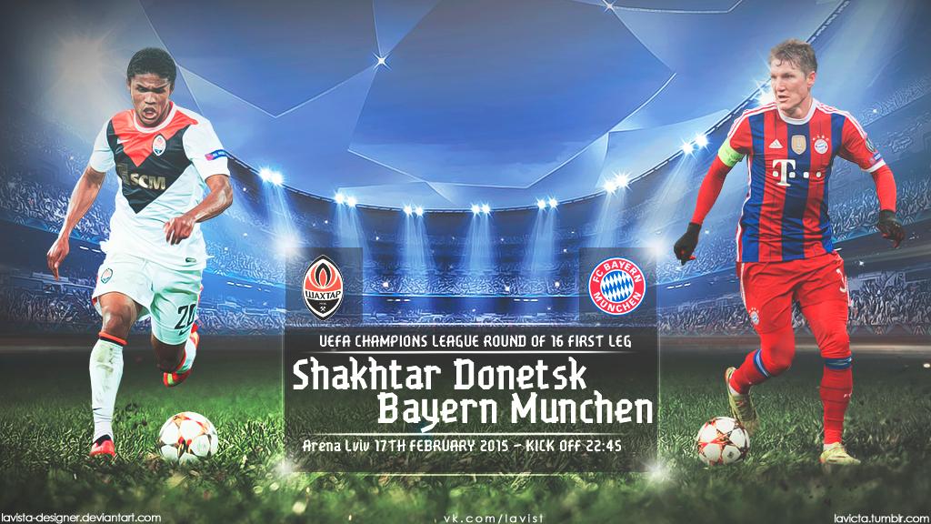Designer In München shakhtar donetsk bayern munchen uefa 2015 by lavista designer on