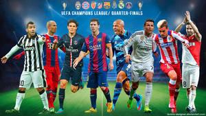 UEFA CHAMPIONS LEAGUE QUARTER-FINALS 2015