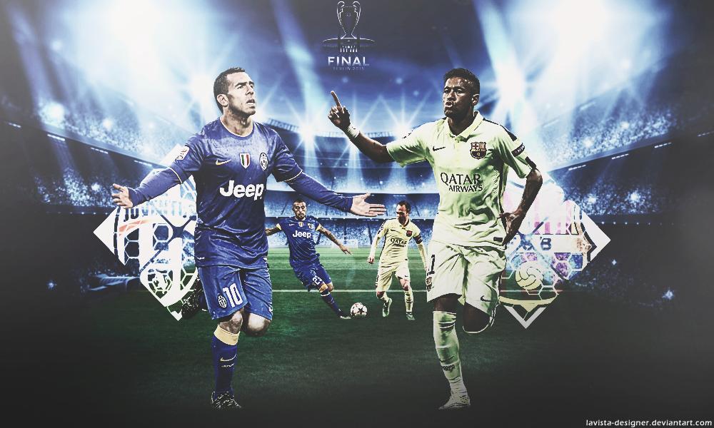 Juventus Barcelona Final 2015 Wallpaper By Lavista Designer On Deviantart