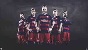 FC BARCELONA - 2015 Wallpaper
