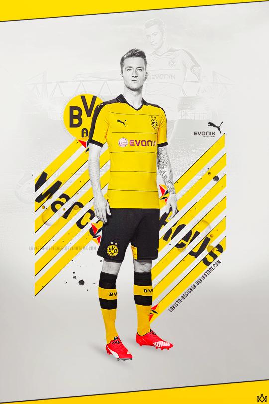 Marco Reus - 2015 New Kit 15/16 by LaVista-Designer on DeviantArt