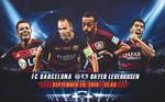 FC Barcelona - Bayer Leverkusen CHAMPIONS LEAGUE