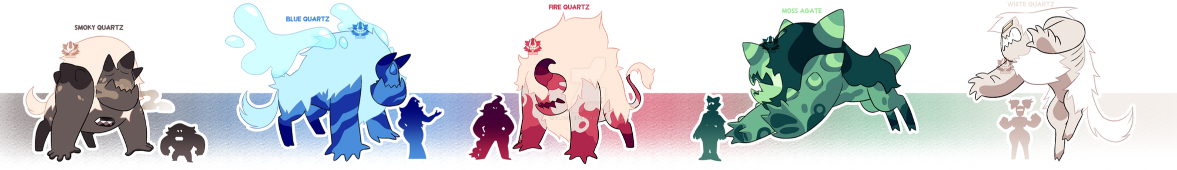 [A] - Corrupted Quartzes (Closed) by FloofHips