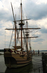 colonial ship by Celtic-Whisper
