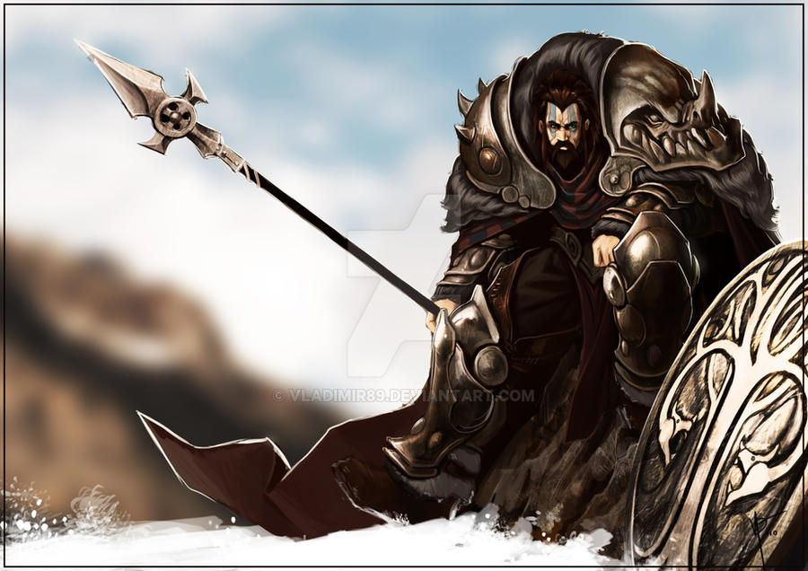 Celtic warrior art