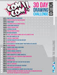 COMCOM!! 30 Day Drawing Challenge Edition