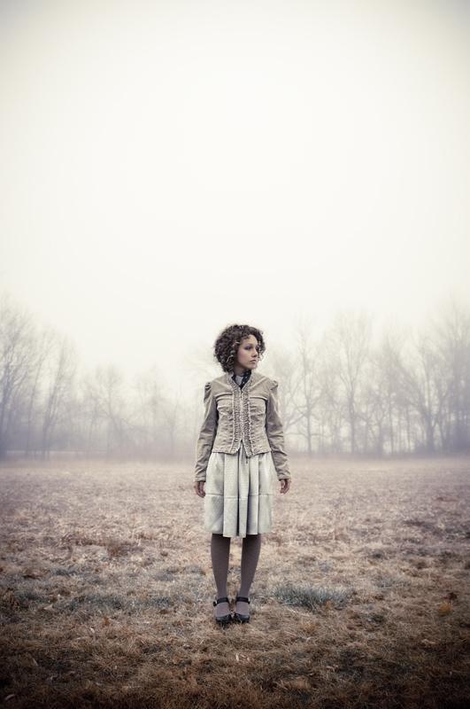 misty morning by greycamera