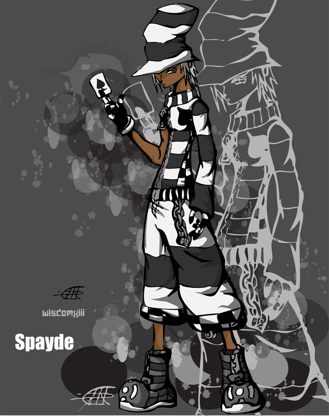 Hero:Spayde TWEWY by WisdomXIII