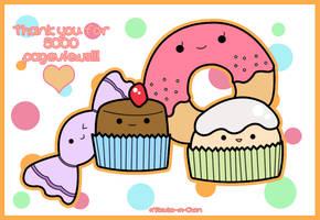 Kawaii Sweets by Mitsuko-m-Chan