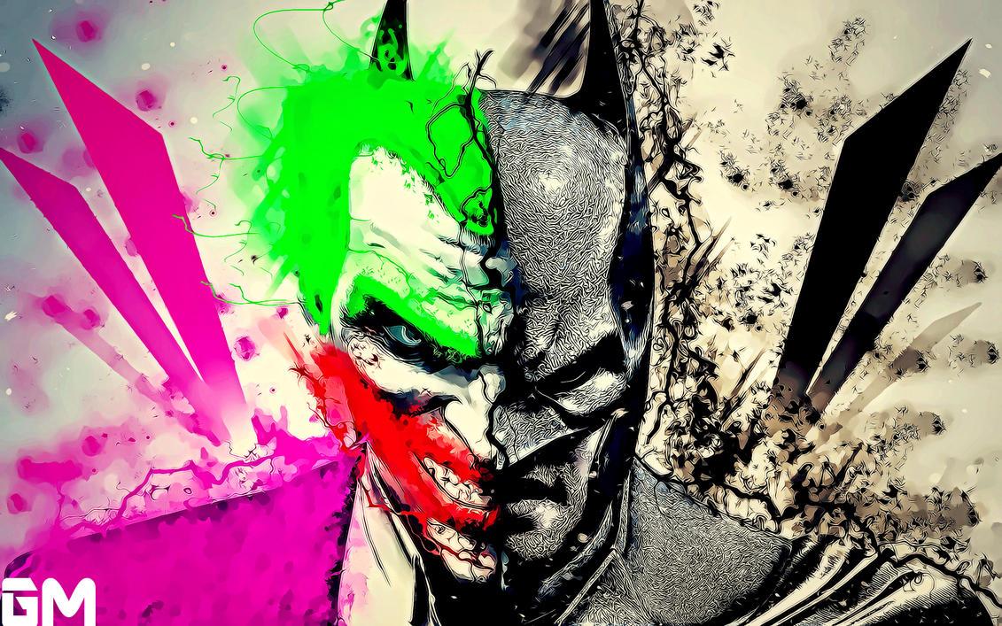 An Attempt on Batman vs Joker Mashup =) by ...