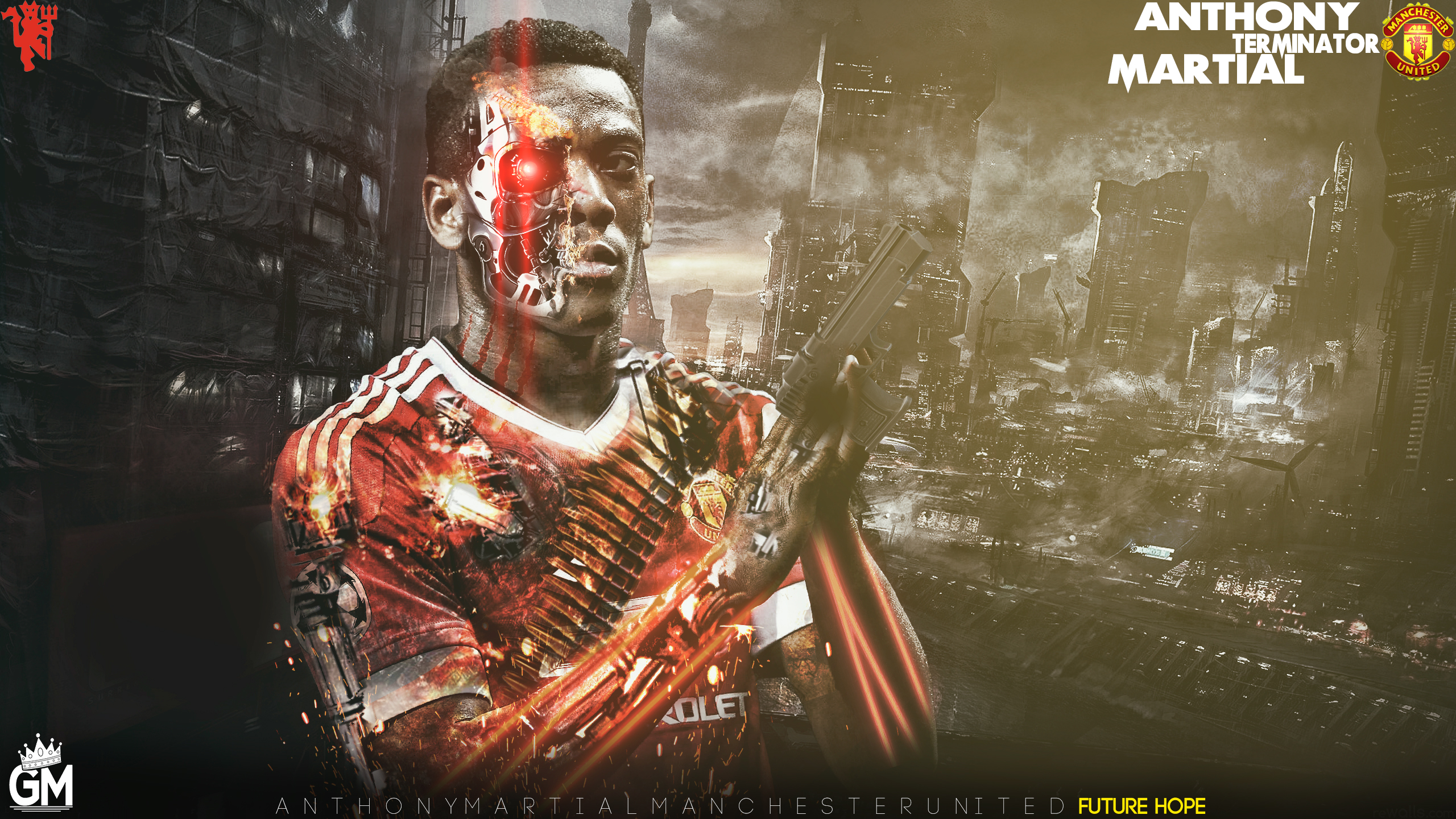 Anthony Martial Wallpaper By GraphicalManiacs On DeviantArt