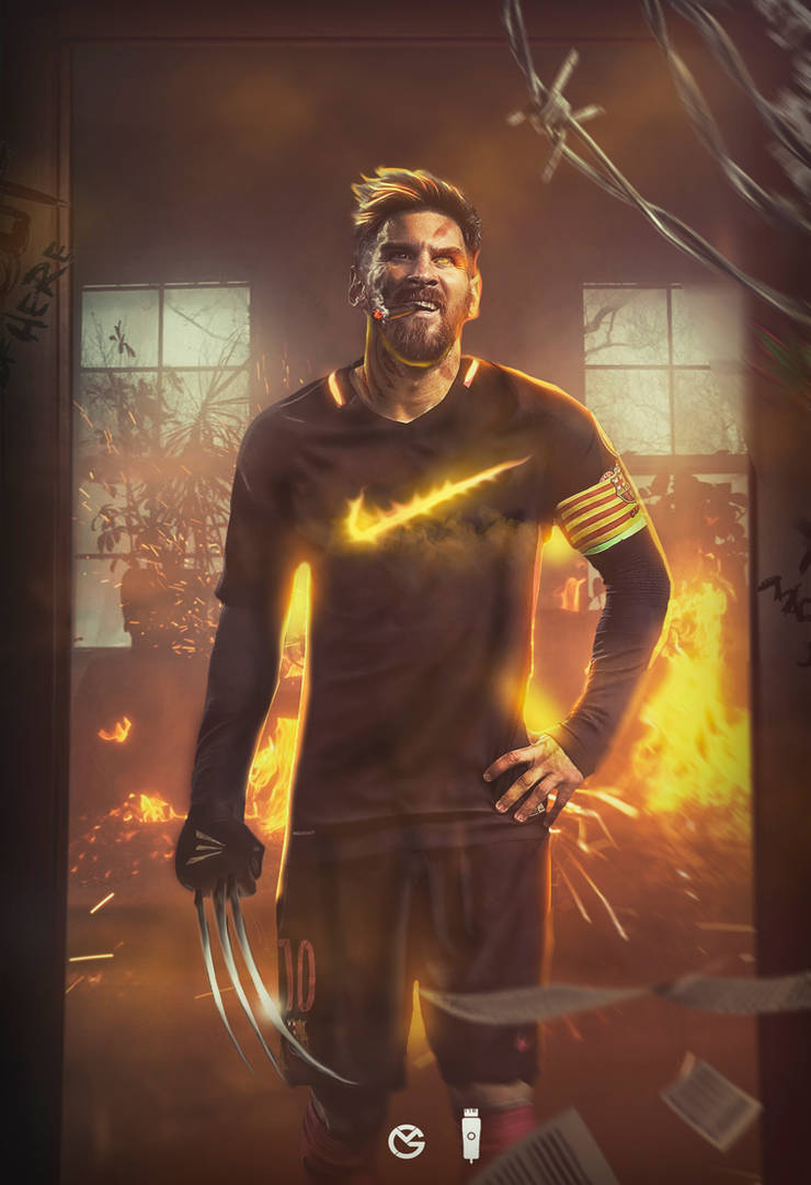 854365340f0 Lionel Messi as Wolverine by GraphicalManiacs on DeviantArt