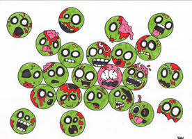 Brains.. Coloured by Puppy2388