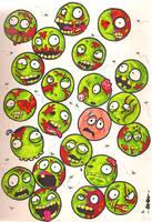Zombie Mash by Puppy2388