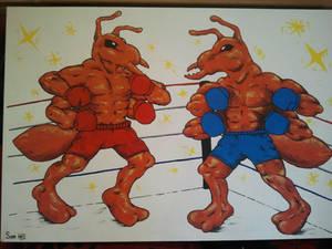 Commissioned Bulldog Ants