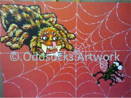Commission Hungry Tarantula
