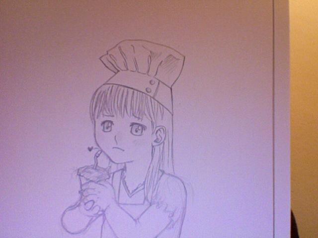 Klara and earthcake by thaurendim