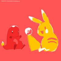 Chu and Char by thaurendim