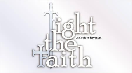Fight the faith logo by Iarhenion
